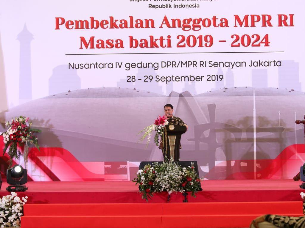 Basarah Paparkan Kewenangan MPR ke 711 Anggota Terpilih 2019-2024