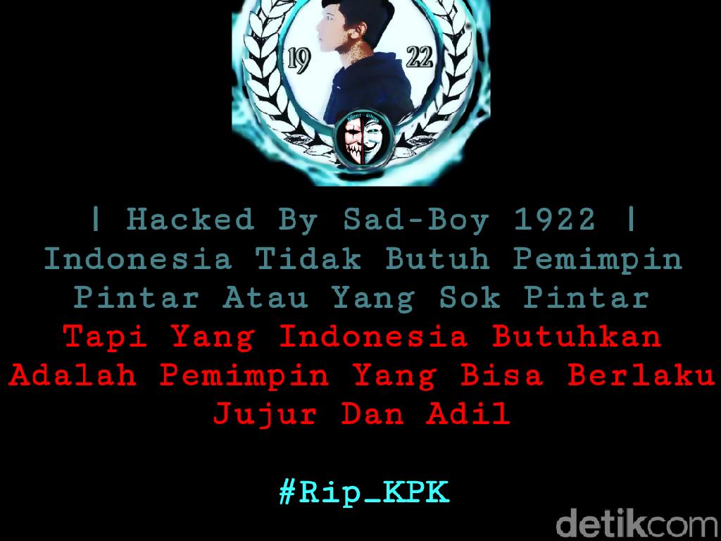 Situs DPRD Sulsel Diretas: RIP KPK!