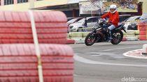 Asyiknya Slalom di Atas Jok New Supra GTR