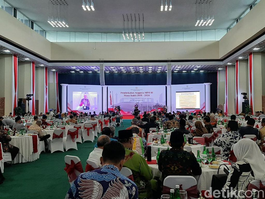 MPR Gelar Pembekalan 4 Pilar Kepada Anggota Terpilih Periode 2019-2024
