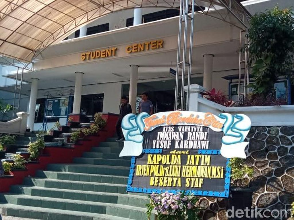 Duka Cita Polisi di Malang Untuk Meninggalnya 2 Mahasiswa Kendari