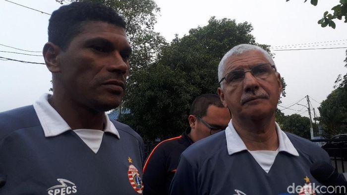 Edson Araujo Tavares tak mendampingi Persija Jakarta latihan. (Foto: Mercy Raya/detikcom)