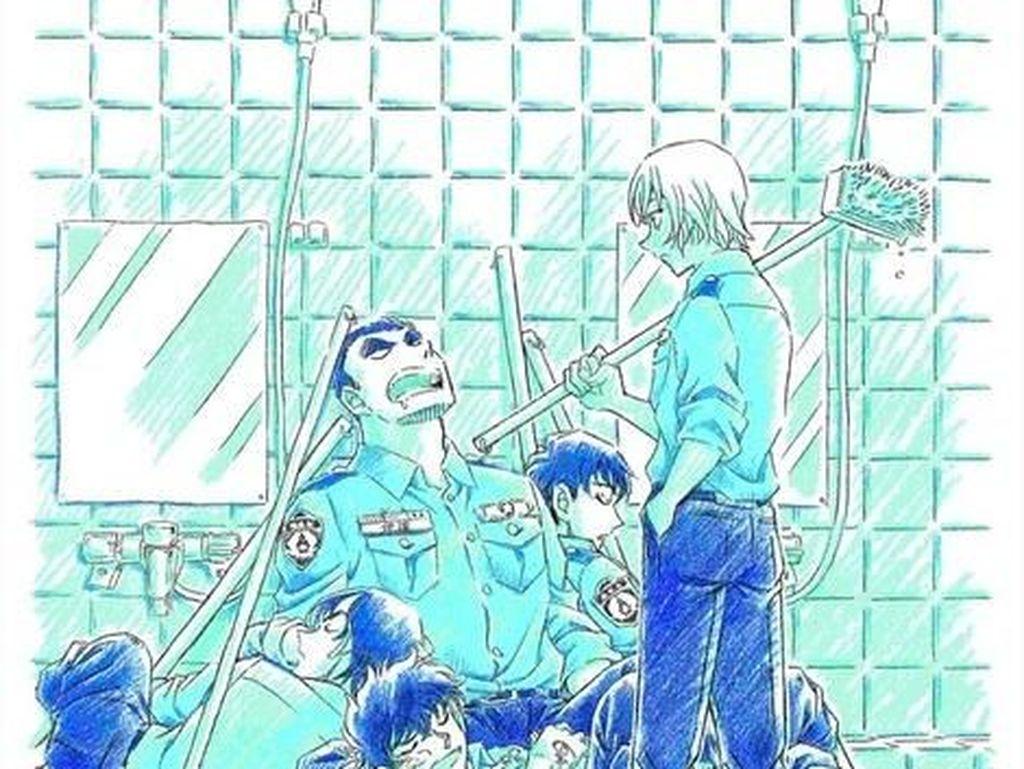 Cerita Spinoff Manga Detective Conan Fokus pada Wataru Date