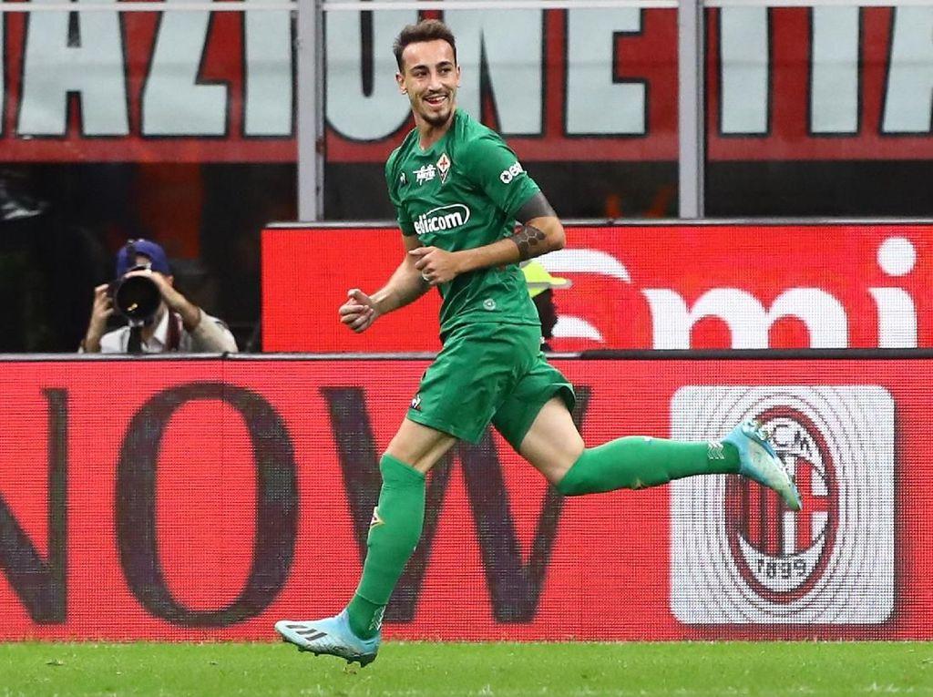 Fiorentina Gebuk Milan di San Siro
