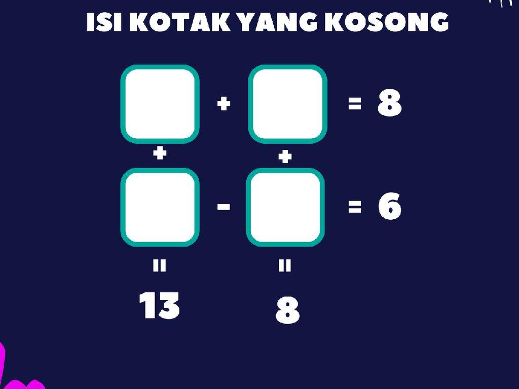 Tajamkan Pikiran, Yuk Coba Teka-teki Matematika Tingkat Anak Sekolah Ini