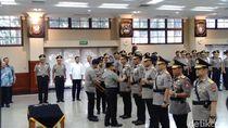 Kapolri Pimpin Sertijab Kapolda Riau, Sultra dan Papua