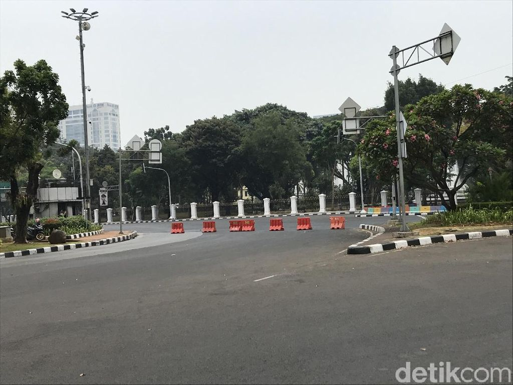 Demo 30 September, Jalan Sekitar Istana Negara Ditutup