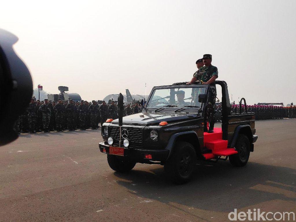 Apel Pengamanan Jelang Pelantikan Presiden, Panglima TNI Ingatkan Soliditas