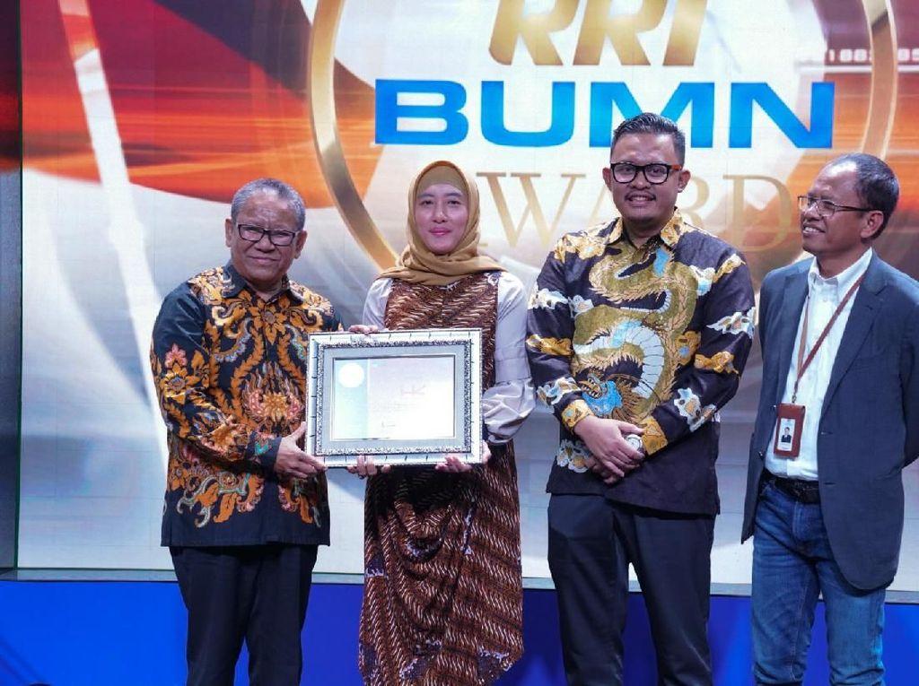Punya Brand yang Kuat, HK Raih Gold Winner dari RRI
