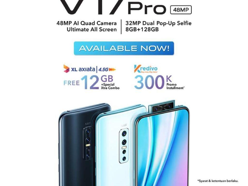 Pertama di Indonesia! vivo V17 Pro Hadir dengan Dual Pop-Up Selfie