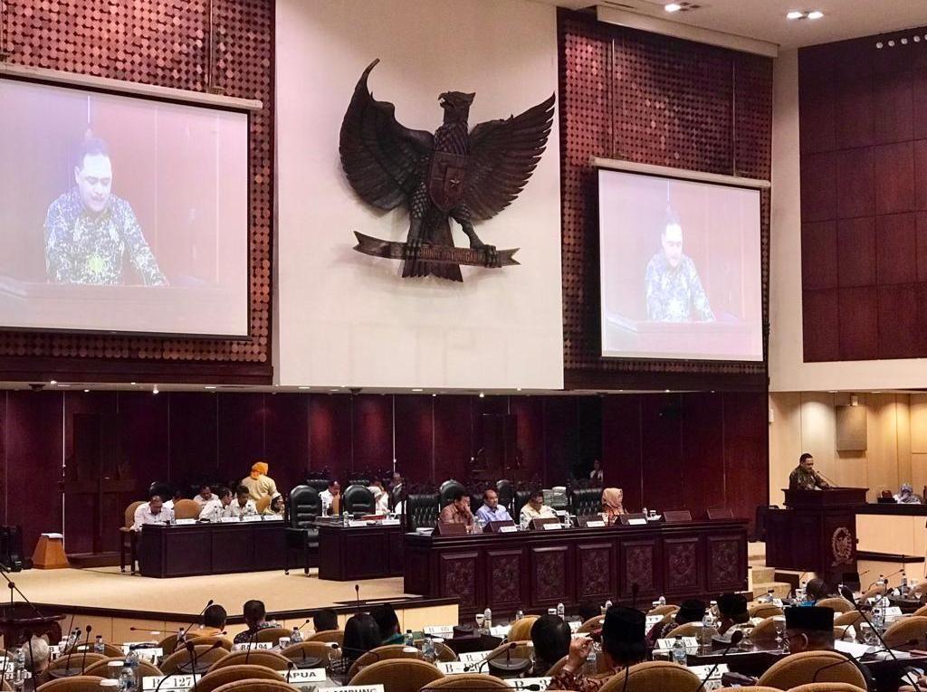 Paripurna DPD, Komite I Laporkan Penyusunan RUU Daya Saing Daerah