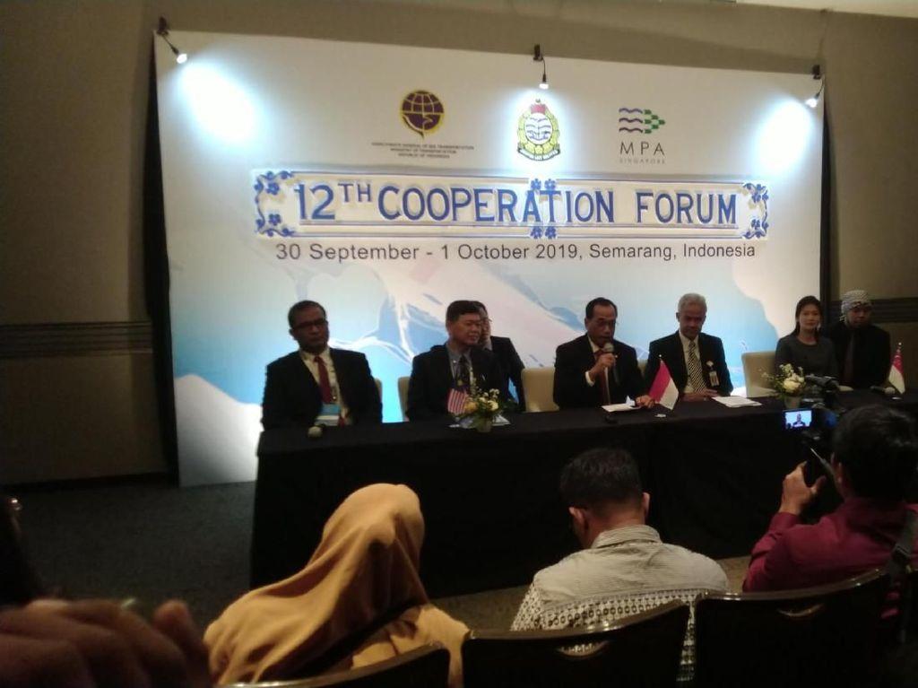 RI, Malaysia, dan Singapura Kerja Sama Jaga Selat Malaka