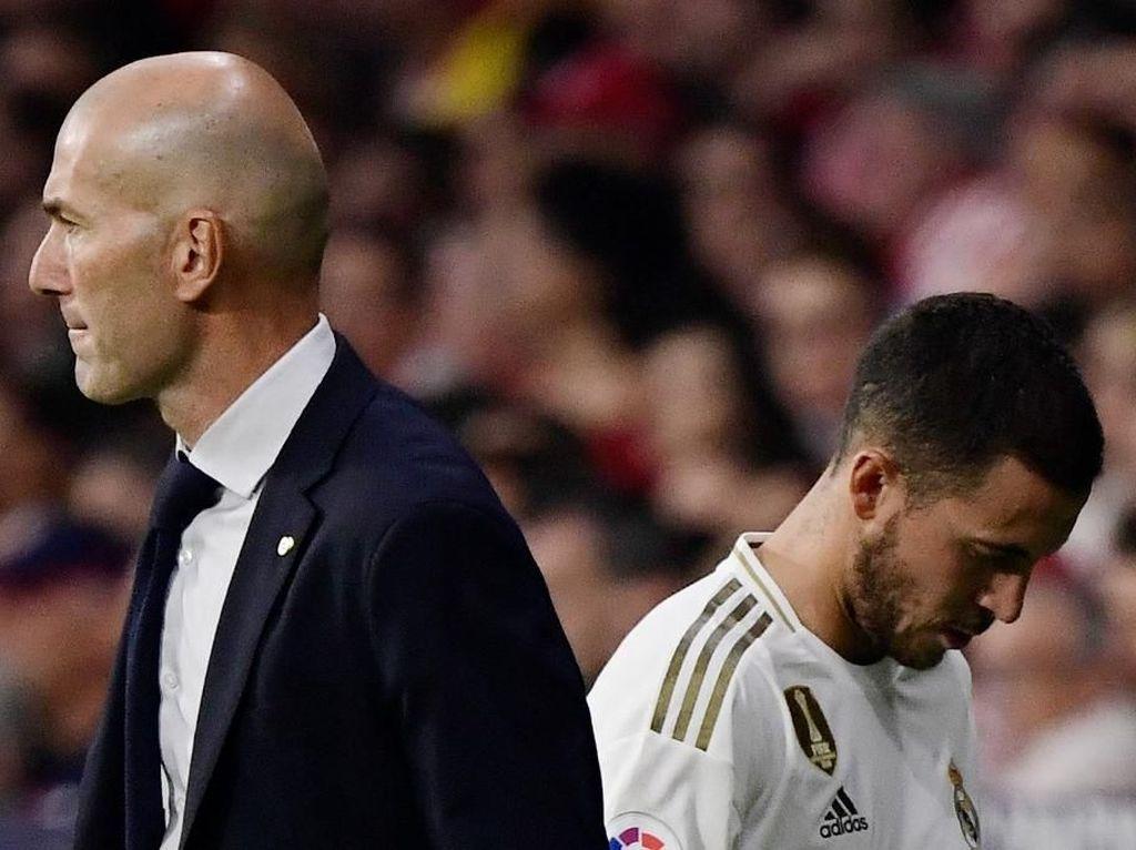 Tak Risau Hazard Belum Bersinar, Zidane: Tenang Saja!