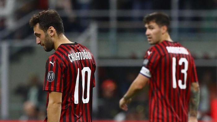 AC Milan terpuruk di peringkat ke-14 klasemen Liga Italia (Foto: Getty Images)