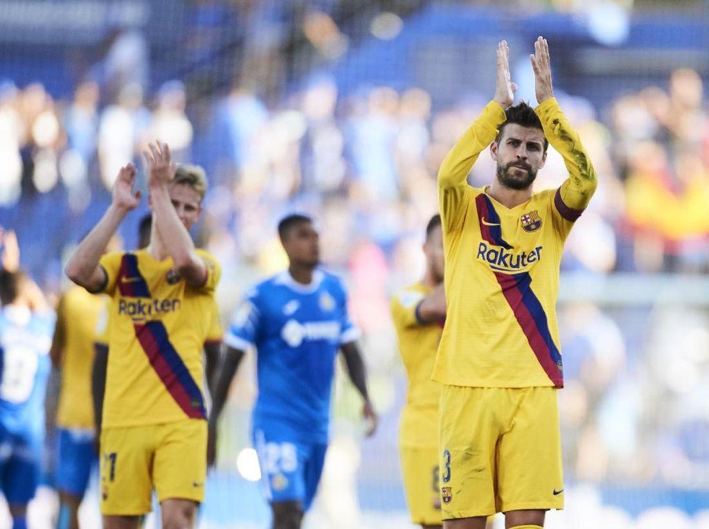 Pique: Barcelona Memang Sedang Belum Capai Levelnya