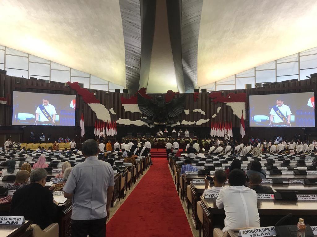 Malam Ini, Nama-nama Pimpinan DPR Ditetapkan dan Diambil Sumpah