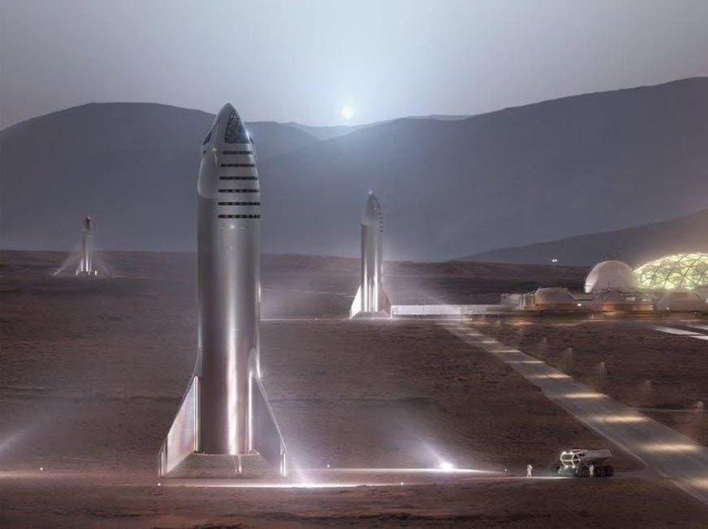Elon Musk Akui Roket Starship Mirip Rudal Nuklir, Tapi...