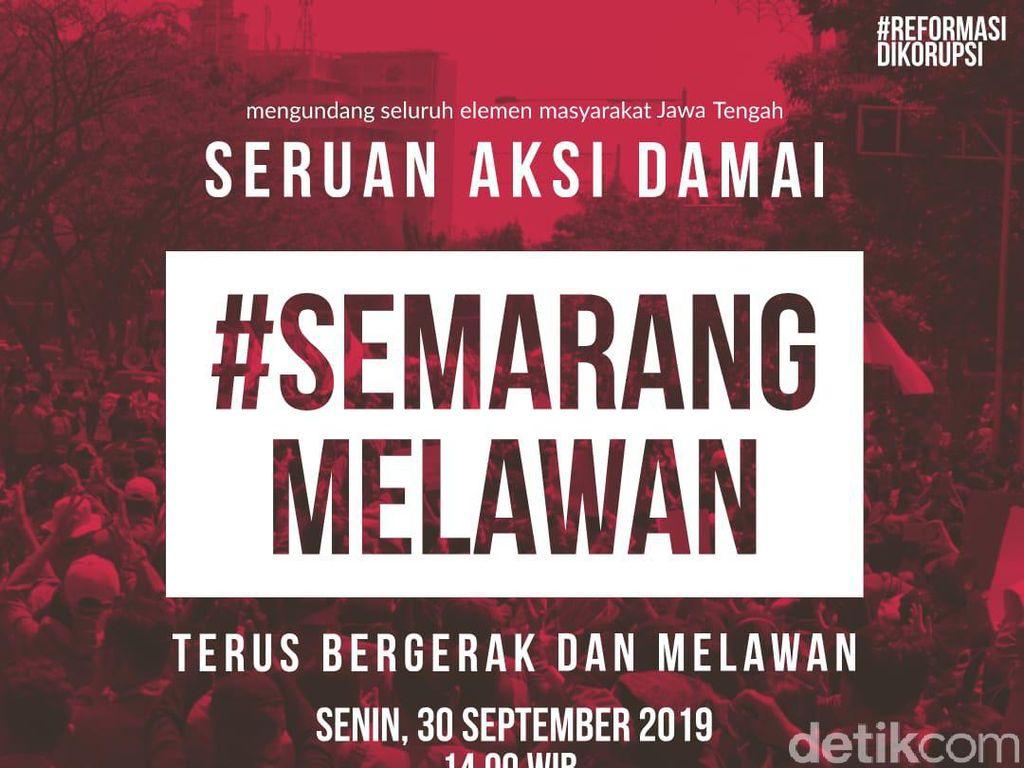 Ada Seruan Aksi #SemarangMelawan, Ganjar: Tidak Tahu Mau Demo Apa Lagi