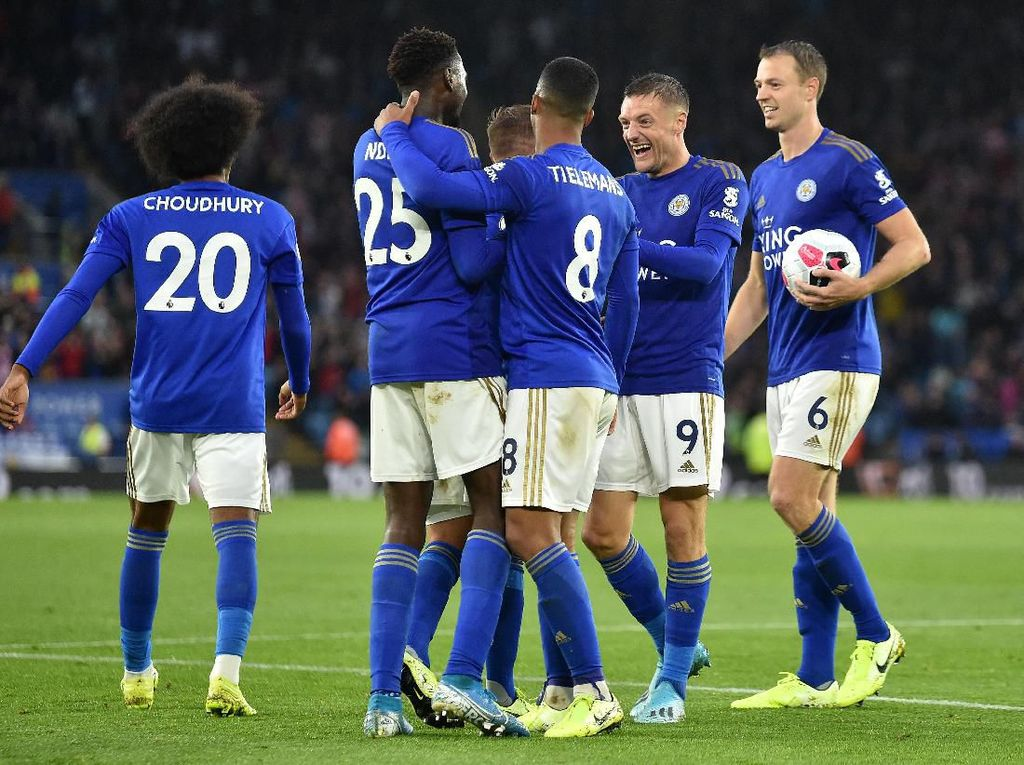 Leicester Vs Newcastle: Menang 5-0, The Foxes Tembus Tiga Besar