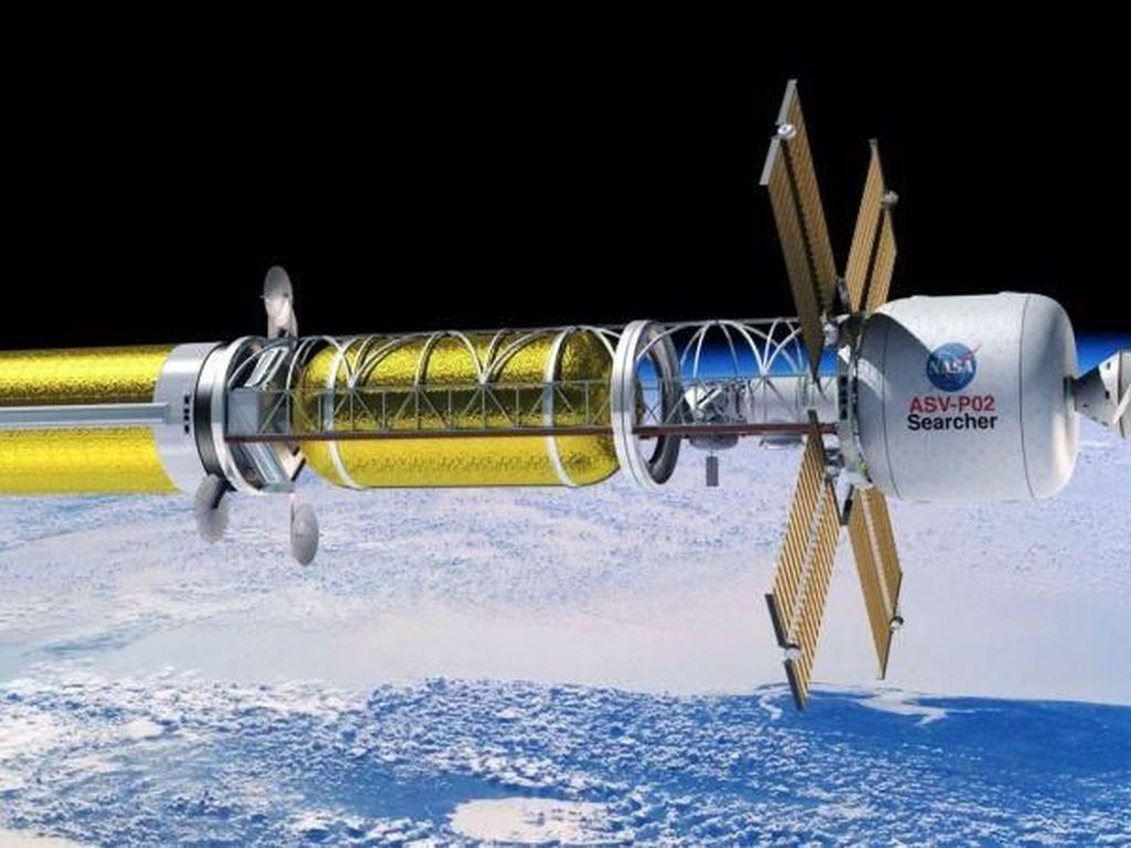 NASA Siapkan Roket Tenaga Nuklir ke Bulan dan Mars