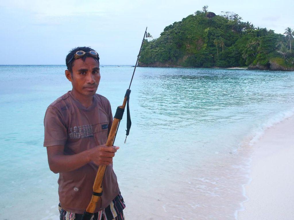Bajubi, Cara Orang-orang Miangas Menangkap Ikan
