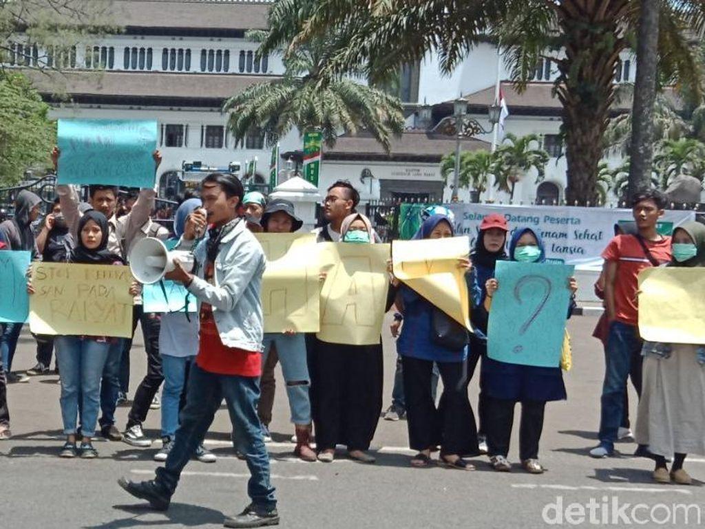 Solidaritas Randi-Yusuf, PMII Bandung Kecam Tindakan Represif Aparat