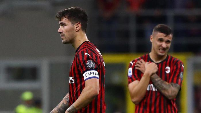 AC Milan menyamai start terburuknya dalam 80 tahun terakhir setelah dikalahkan Fiorentina (Marco Luzzani/Getty Images)