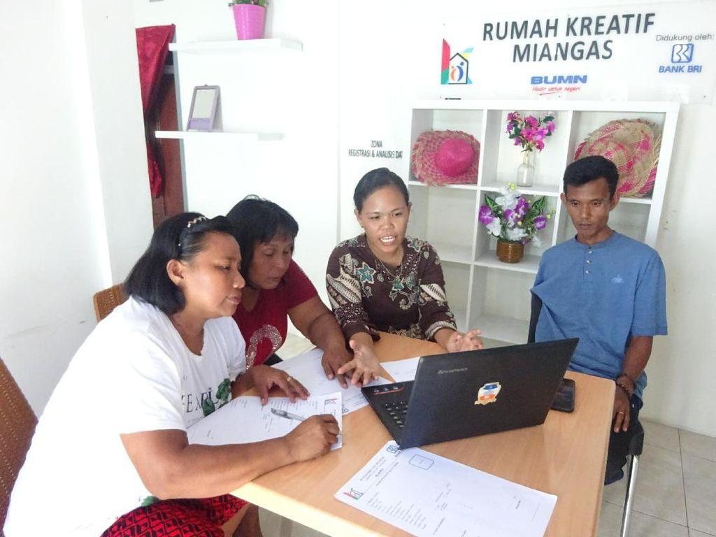 Demi Majukan UMKM, Pegawai BRI di Miangas Terbang ke Yogyakarta