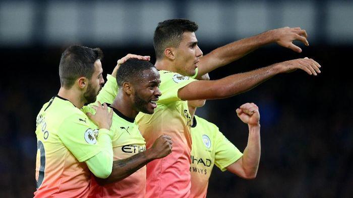 Manchester City selalu menang di empat laga terakhirnya musim ini. (Foto: Alex Livesey/Getty Images)