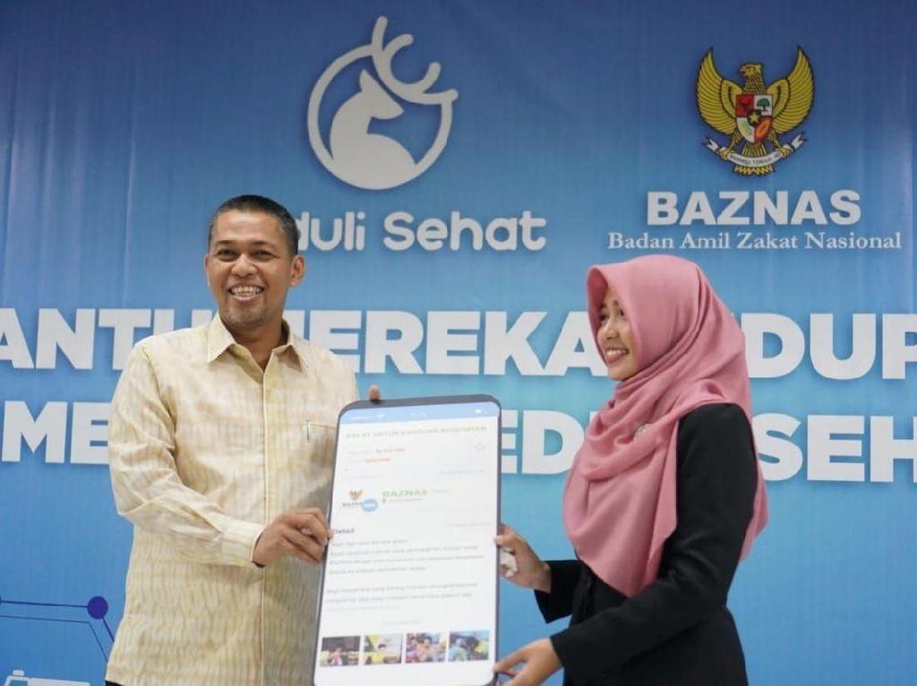 Kolaborasi Baznas & Pedulisehat.id Mudahkan Masyarakat Berdonasi
