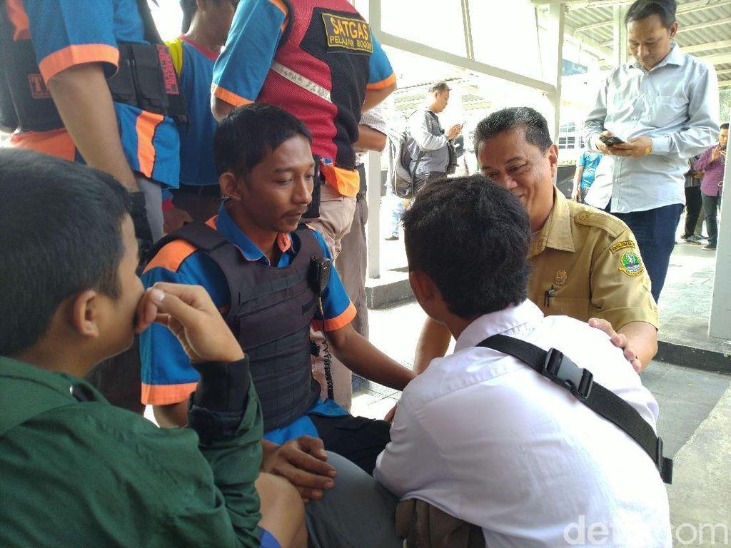 Mau ke Jakarta, Pelajar Ini Tak Berkutik Saat Diamankan di St Bogor