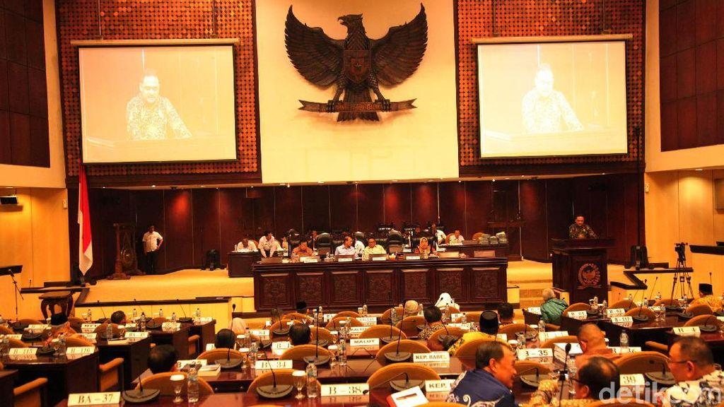 Sidang Paripurna Akhir Masa Jabatan DPD Periode 2014-2019