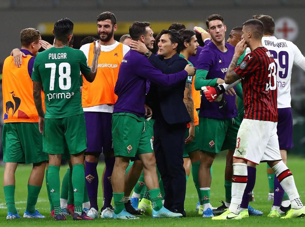 Fiorentina Tumbangkan Milan, Montella: Bukan Balas Dendam