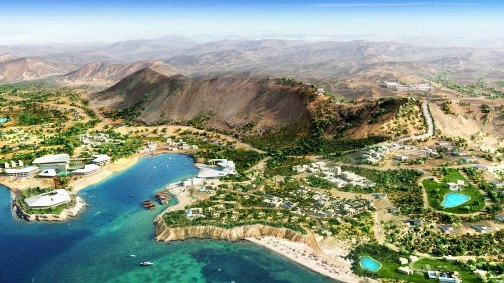 Potret Mega Proyek Pariwisata Arab Saudi