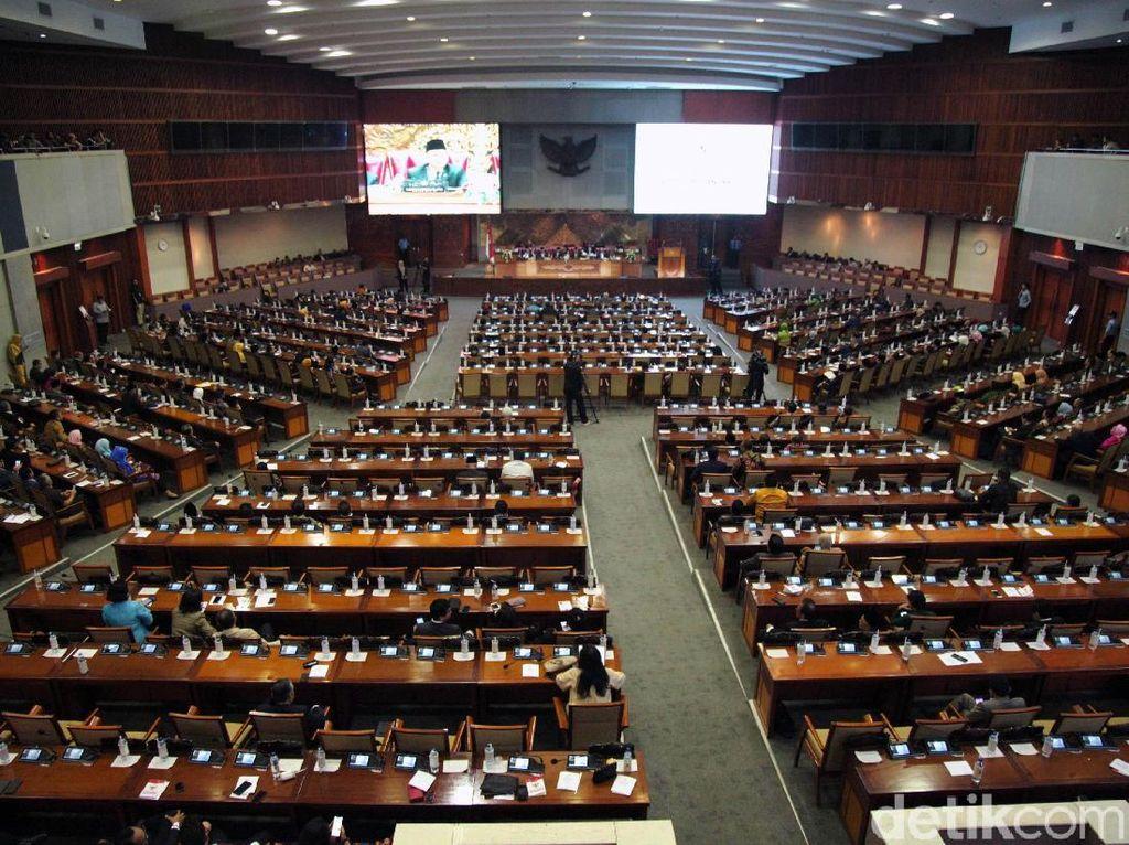 DPR Gelar Paripurna Penetapan Alat Kelengkapan Dewan Hari ini