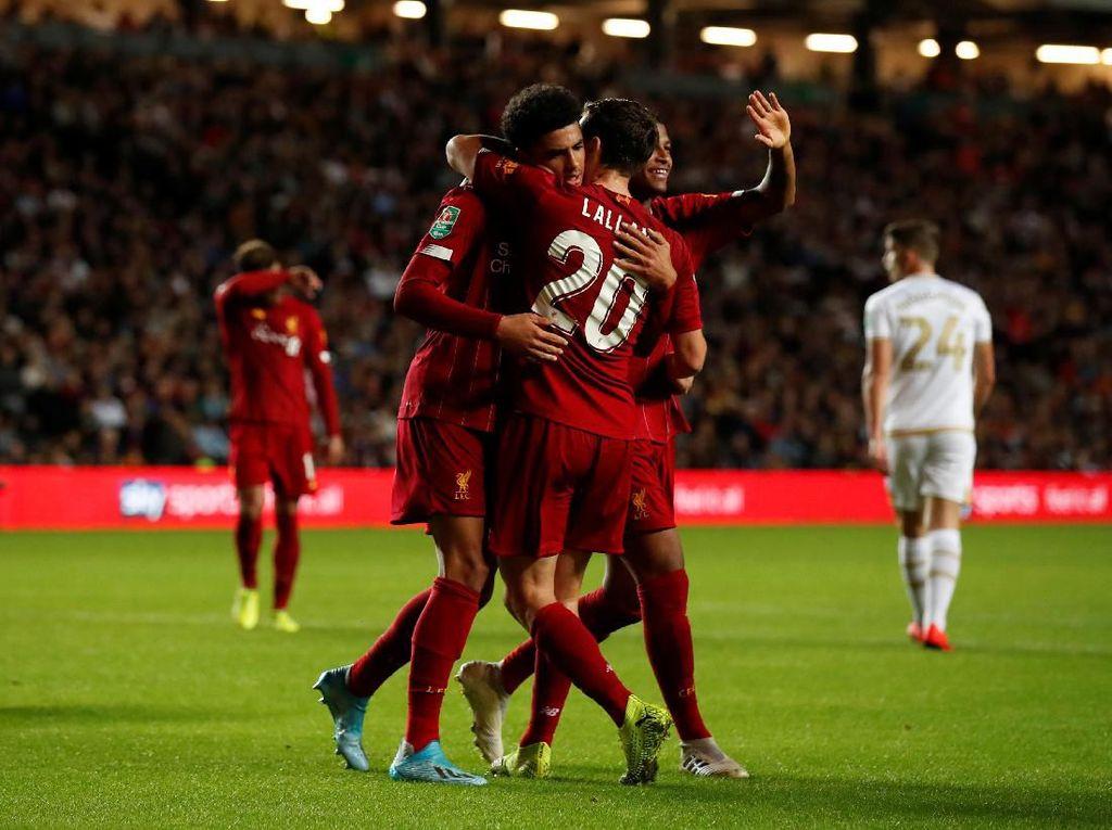 Klopp Pasrah Jika Liverpool Harus Dicoret dari Piala Liga Inggris