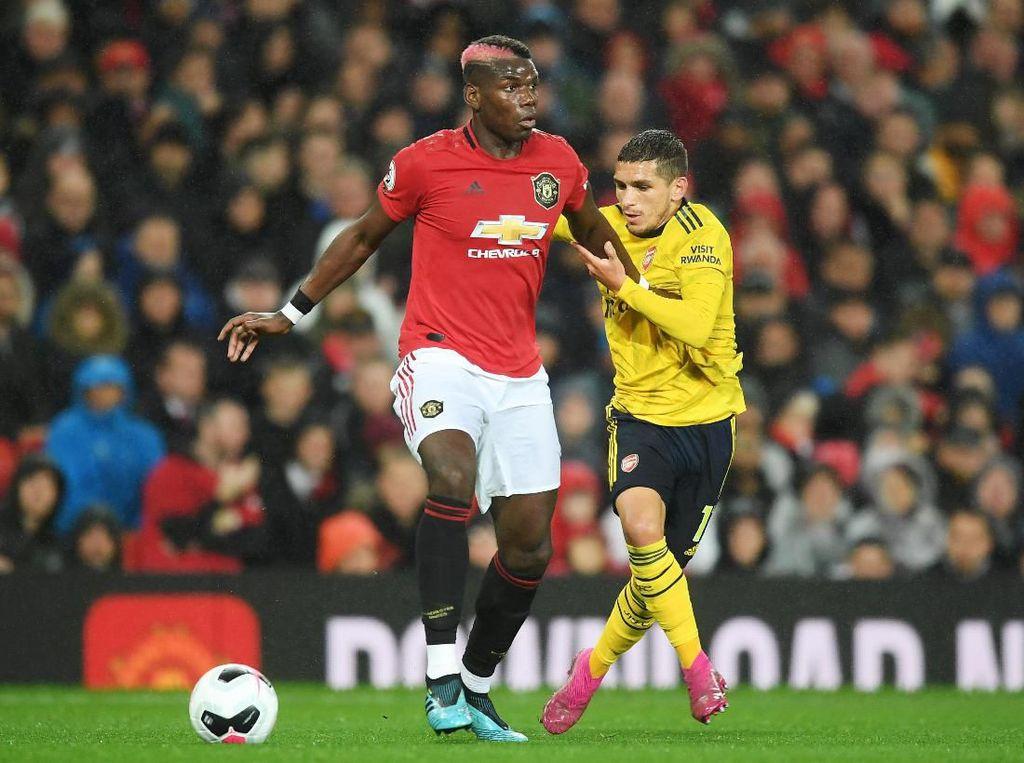 MU Vs Arsenal Berakhir Sama Kuat 1-1