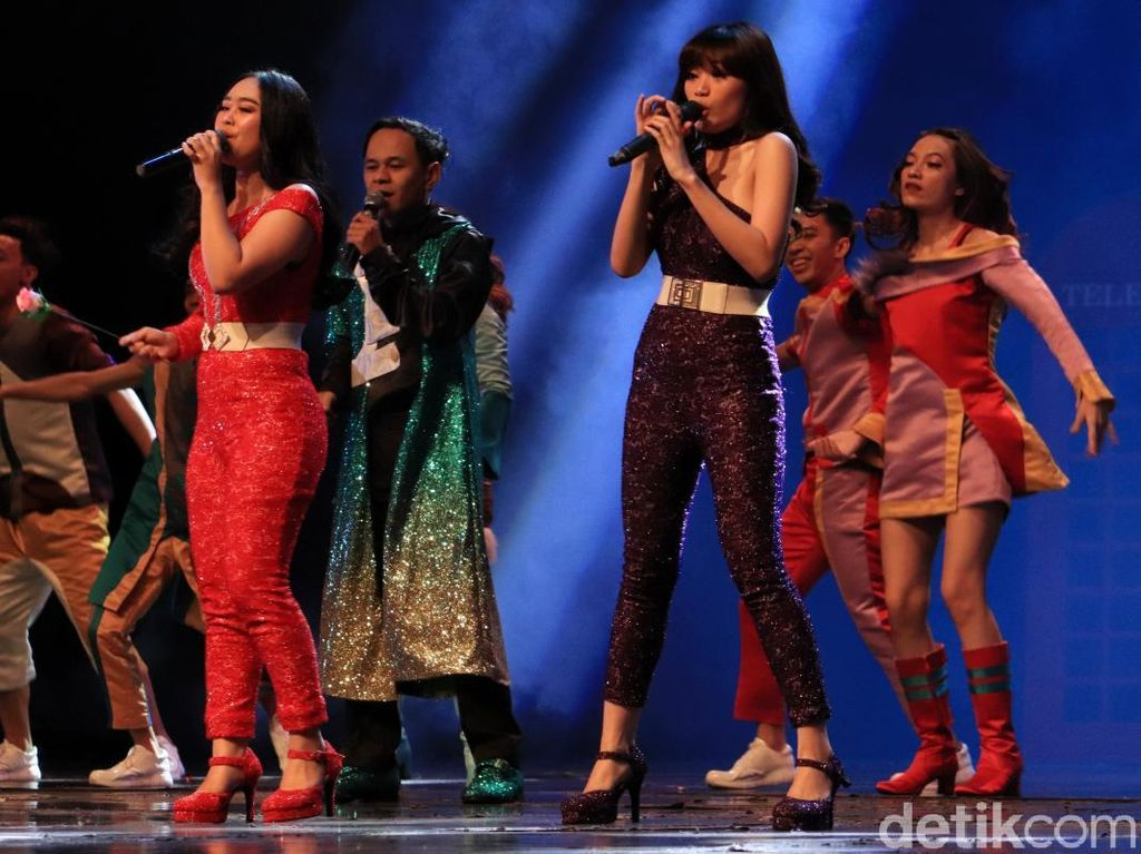 Foto: Pertunjukan Cinta Syahdu di Trans Studio Bandung