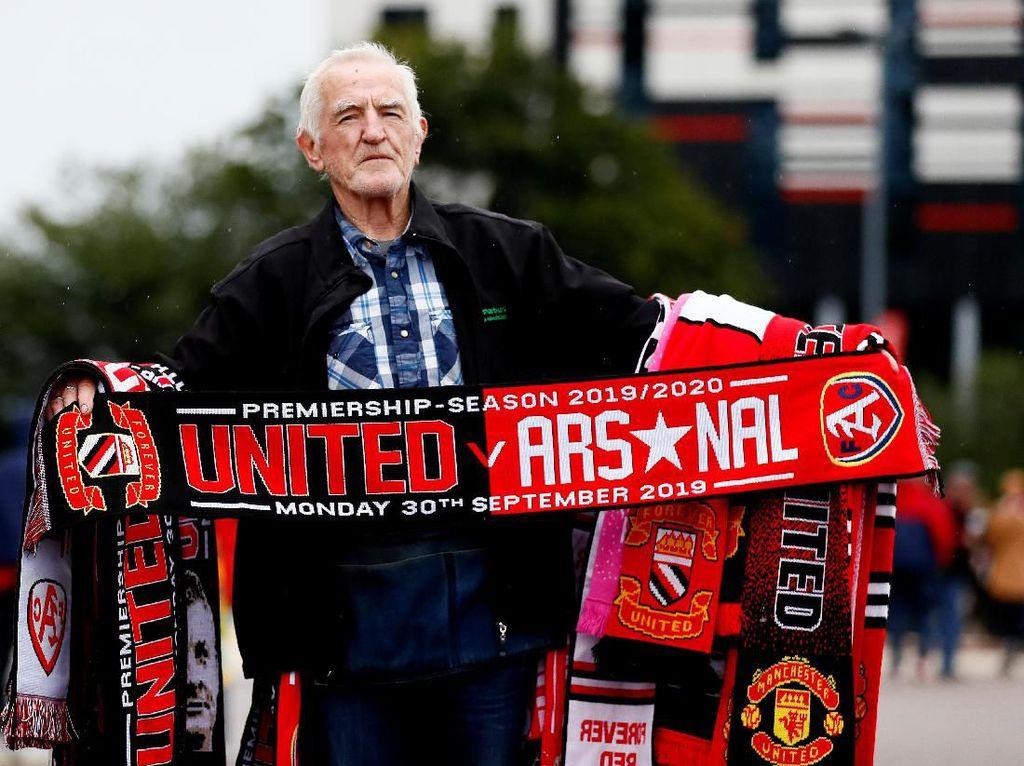 Susunan Pemain Manchester United vs Arsenal: Pogba-Rashford Starter