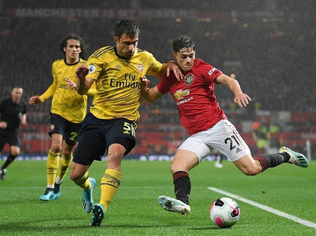 MU Vs Arsenal: Duel Tanpa Greget di Old Trafford