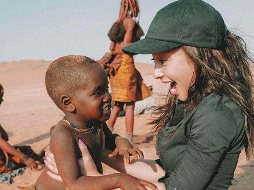 Foto: Cantiknya Nikita Willy Liburan ke Namibia