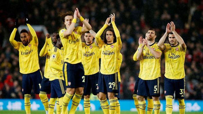 Arsenal dianggap bersikap dewasa saat menghadapi Manchester United. (Foto: Andrew Yates/Reuters)