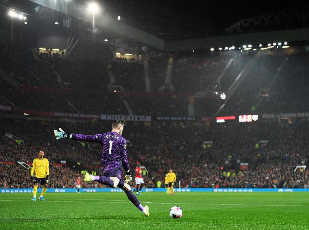 De Gea: MU Berikan Gol Cuma-cuma Buat Arsenal