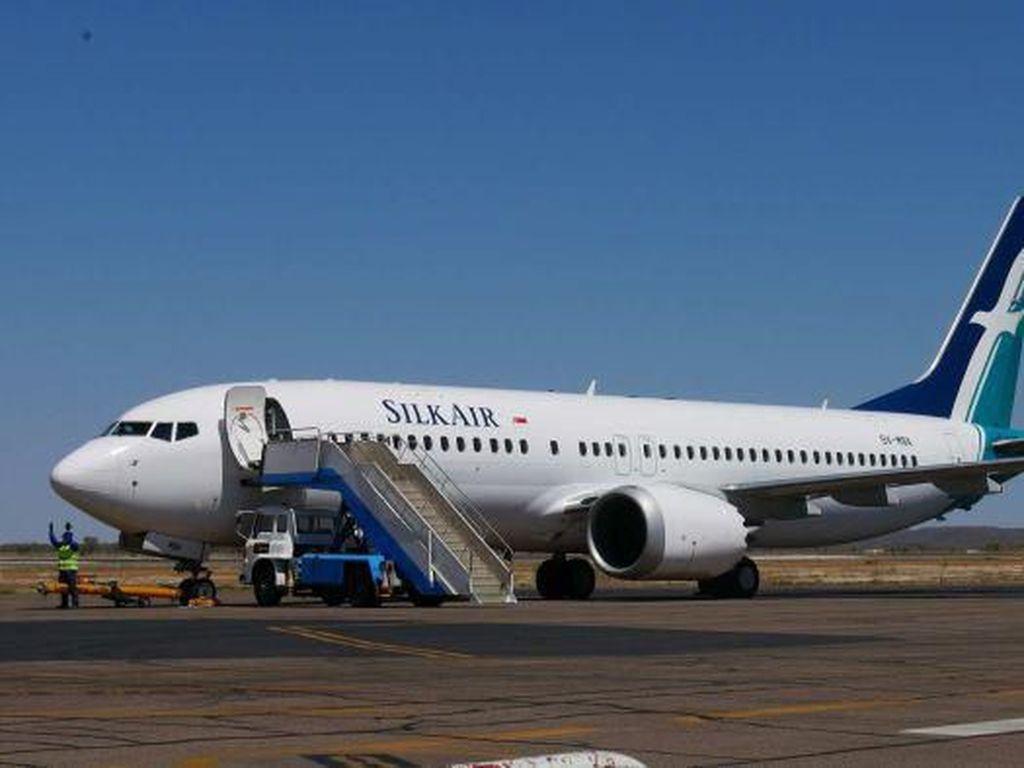 Boeing 737 Silk Air Diparkir di Australia Untuk Hindari Musim Hujan di Singapura
