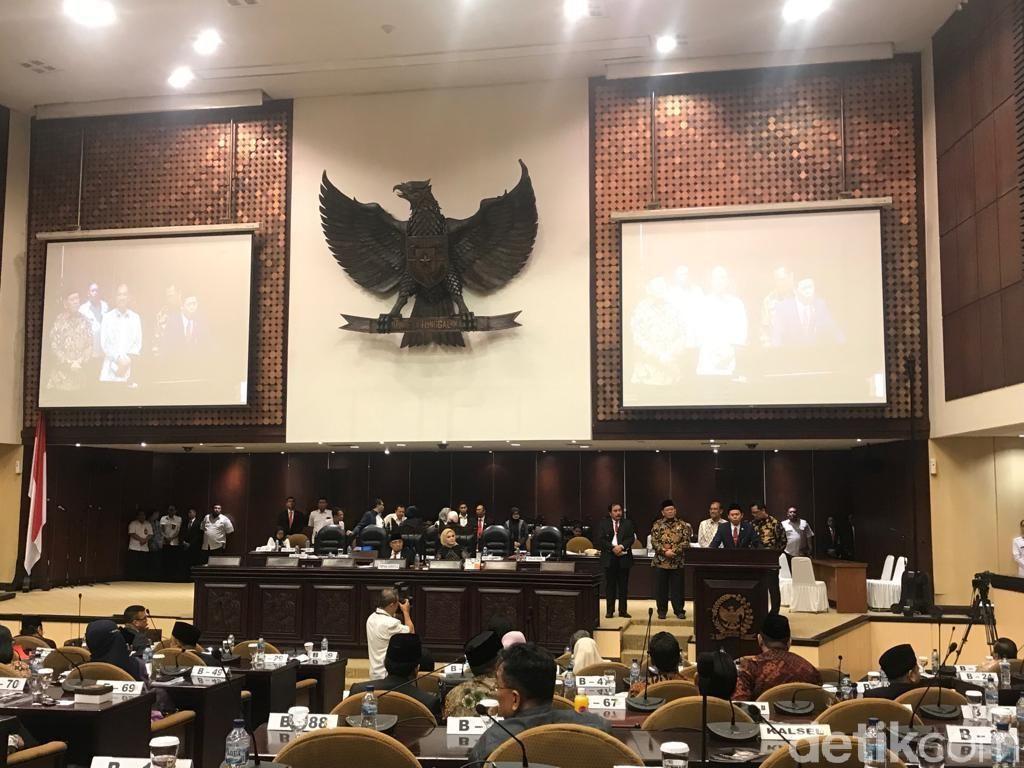 Pimpinan DPD Sepakat Pemilihan Ketua Lewat Voting