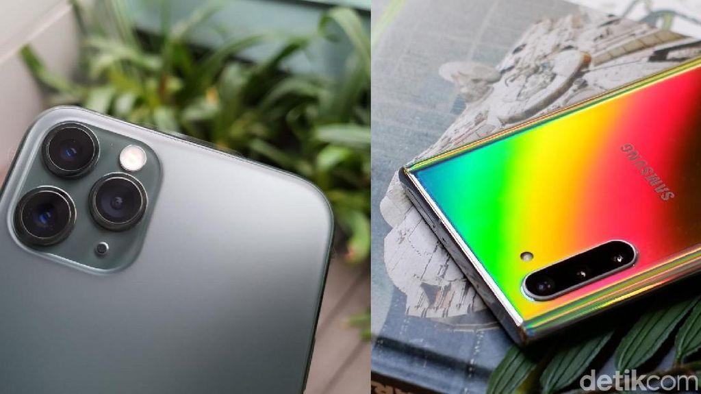 Blind Test iPhone 11 Pro dan Galaxy Note 10+, Suka Mana?