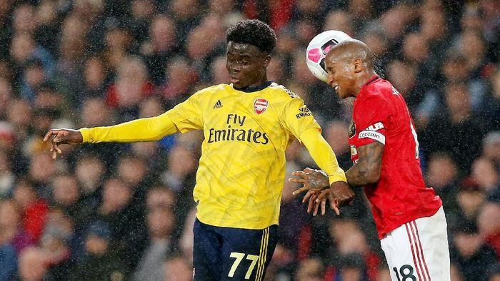 Sembilan fakta usai MU vs Arsenal berakhir imbang 1-1 (Andrew Yates/Reuters)