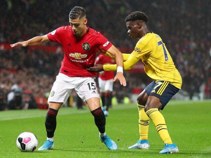 Duel Manchester United Vs Arsenal berakhir 1-1 dan dinilai tidak menarik (Catherine Ivill/Getty Images)