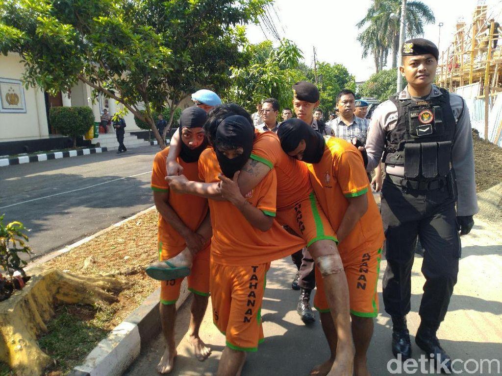 5 Pelaku Pembacokan Polisi di Ciseeng Bogor Ditangkap