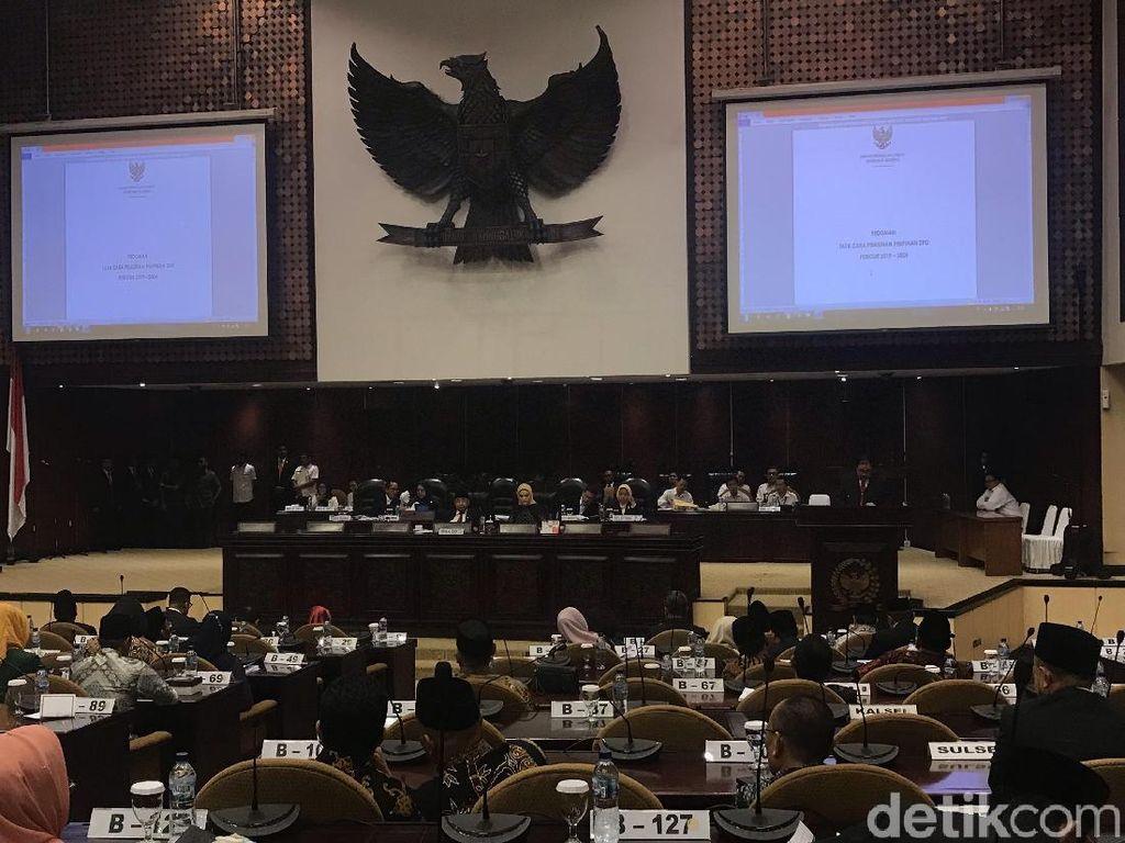 La Nyalla hingga Mahyudin Resmi Jadi Pimpinan DPD 2019-2024